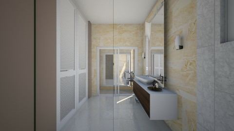 Bathroom Angle 3 - Minimal - Bathroom  - by gerlukavich