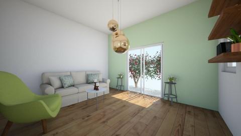 garden living room - Living room - by aila auk