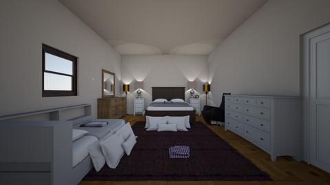 Modern bedroom - Modern - Bedroom  - by dylan64553