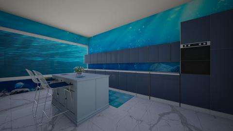 Ocean kitchen - Modern - Kitchen  - by Pheebs09