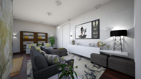 LIVING ROOM - Modern - Living room  - by kickicole