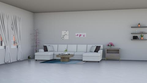 Open Living - Modern - Living room  - by Kat1121