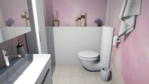 The Arty Toilet - Bathroom  - by Tzed Design