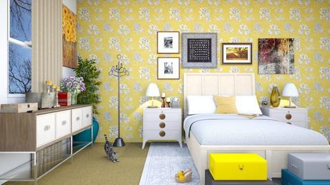Maximilist Bedroom - Bedroom - by josielz
