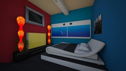spojene spalnerdt - Kids room  - by Grafit