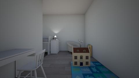 Kids Room - Minimal - Kids room  - by RoniRaindrop