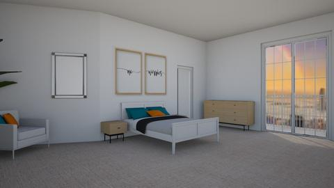 Lshaped on angle - Global - Bedroom  - by miriam231
