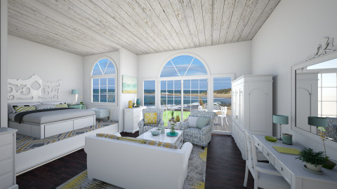 ocean view guest suite - Classic - Bedroom  - by Ali Ruth