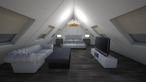 Lofty bedroomgh - Living room - by kantorjanos