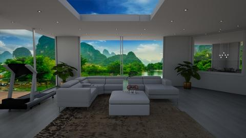 Retreat - Minimal - Living room  - by Helen Abram