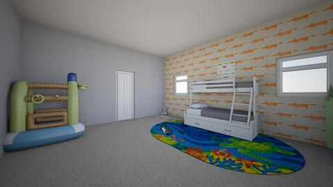 Yarichi  - Kids room  - by jea_123456