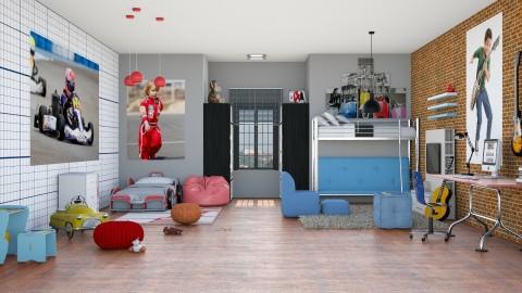 Quarto dos brothers - Kids room  - by Alecio