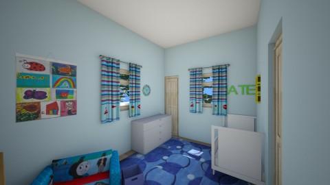 Nate_s Roomlast - Kids room - by Robacki