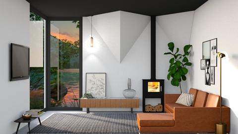 simple is best - Living room - by TamarK