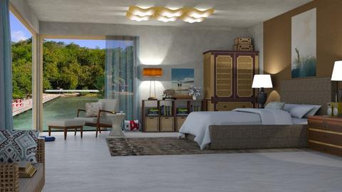 S BB - Bedroom  - by nat mi