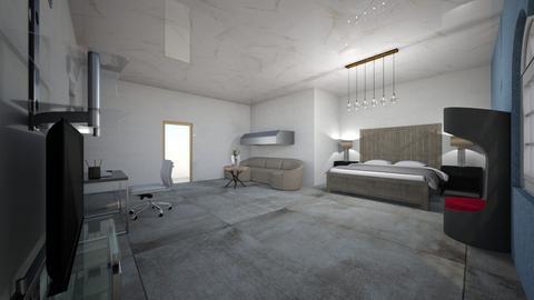 Dhp - Modern - Bedroom  - by erkk