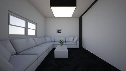 dark living room  - Living room  - by samrr1224