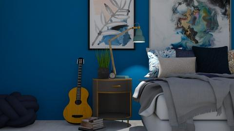 urban road - Masculine - Bedroom  - by cozB12