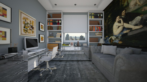 Home Office - Office  - by _Taz_
