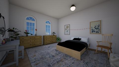 bedroom - Bedroom  - by ievameda_7