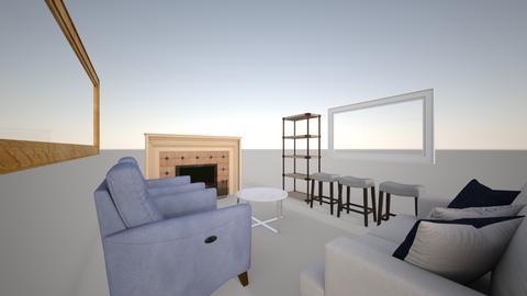 Parents Edmonds - Living room - by kloughrin
