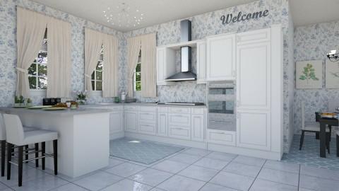 Kitchen for 5 - Modern - Kitchen  - by hollyhough549