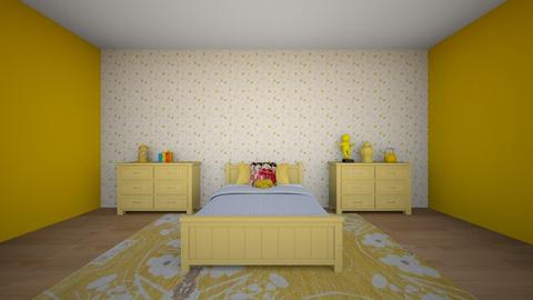 Room - Modern - Bedroom  - by Sienna333