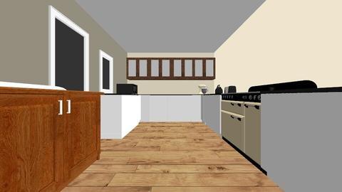 BT Kitchen Breakfast - Country - Kitchen  - by chillilizard