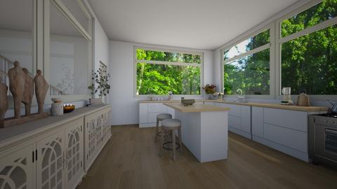Kitchen - Minimal - Kitchen  - by daisychainhippytaniwha