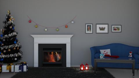 Christmas Eve - Living room  - by Kat1121
