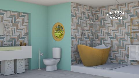 g - Bathroom  - by Naw Mary Phaw
