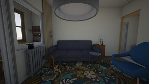 July1007 - Living room - by Julia Nick
