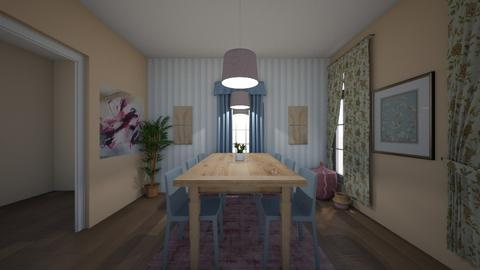 Blue LR - Living room  - by jordynnn