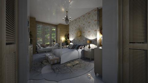 Loft - Bedroom  - by Maria Helena_215