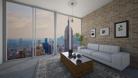 modern living room  - Living room - by AngelicaZhelez