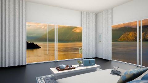 second bed room 2 - Glamour - Bedroom  - by Nourhaan Adel