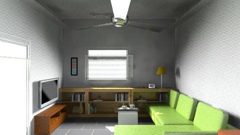 Village House Living 4 - Retro - Living room  - by kpfchu
