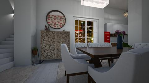kitchen and dining room - Kitchen - by amila34