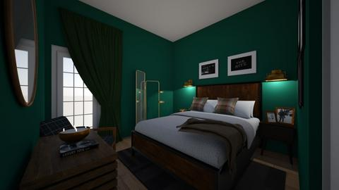 Upstairs Guest room 2 - Bedroom  - by jkoven81