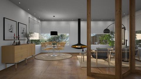 440 - Modern - Living room  - by Claudia Correia