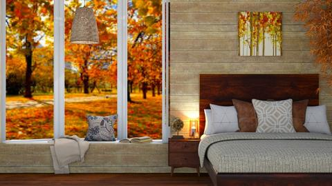 Autumn Bedroom - Bedroom  - by SouthernDeco