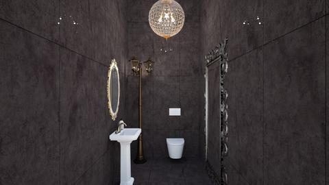 Blackbath - Bathroom  - by orlydeb