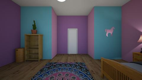 Raylynn - Bedroom - by jesspeters