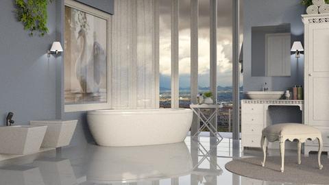S W A N  - Bathroom  - by Alda Neziri