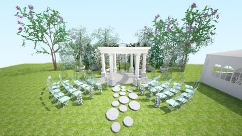 wedding plae - Classic - Garden  - by Kalinowska