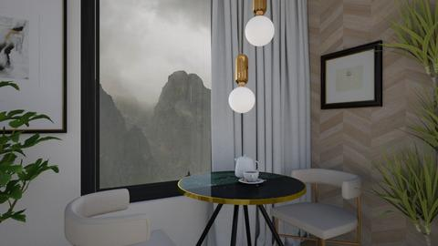 for two  - Modern - Dining room  - by moomusr