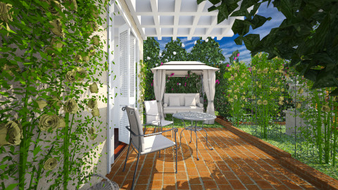 Rose garden - Garden - by Lizzy0715