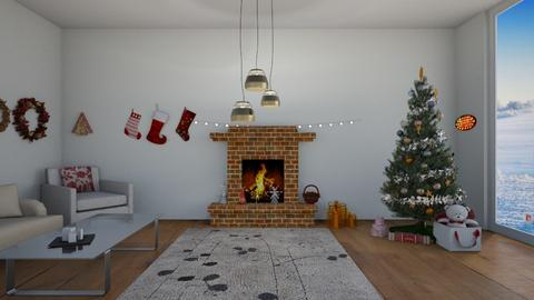merry christmas - Classic - Living room  - by 29catsRcool