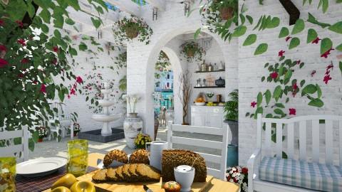 Design 83 Mediterranean Veranda - Garden  - by Daisy320