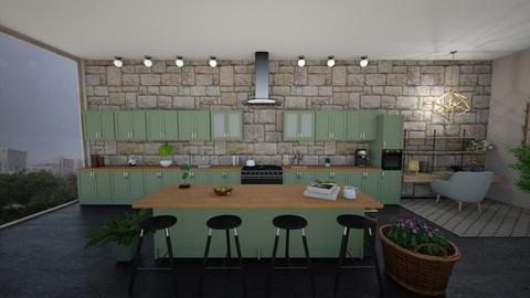 Plant Mom Kitchen - Global - Kitchen  - by stokeshannah